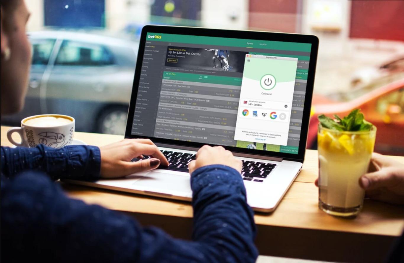 Parier en mode d'accès à mobile Bet365 application