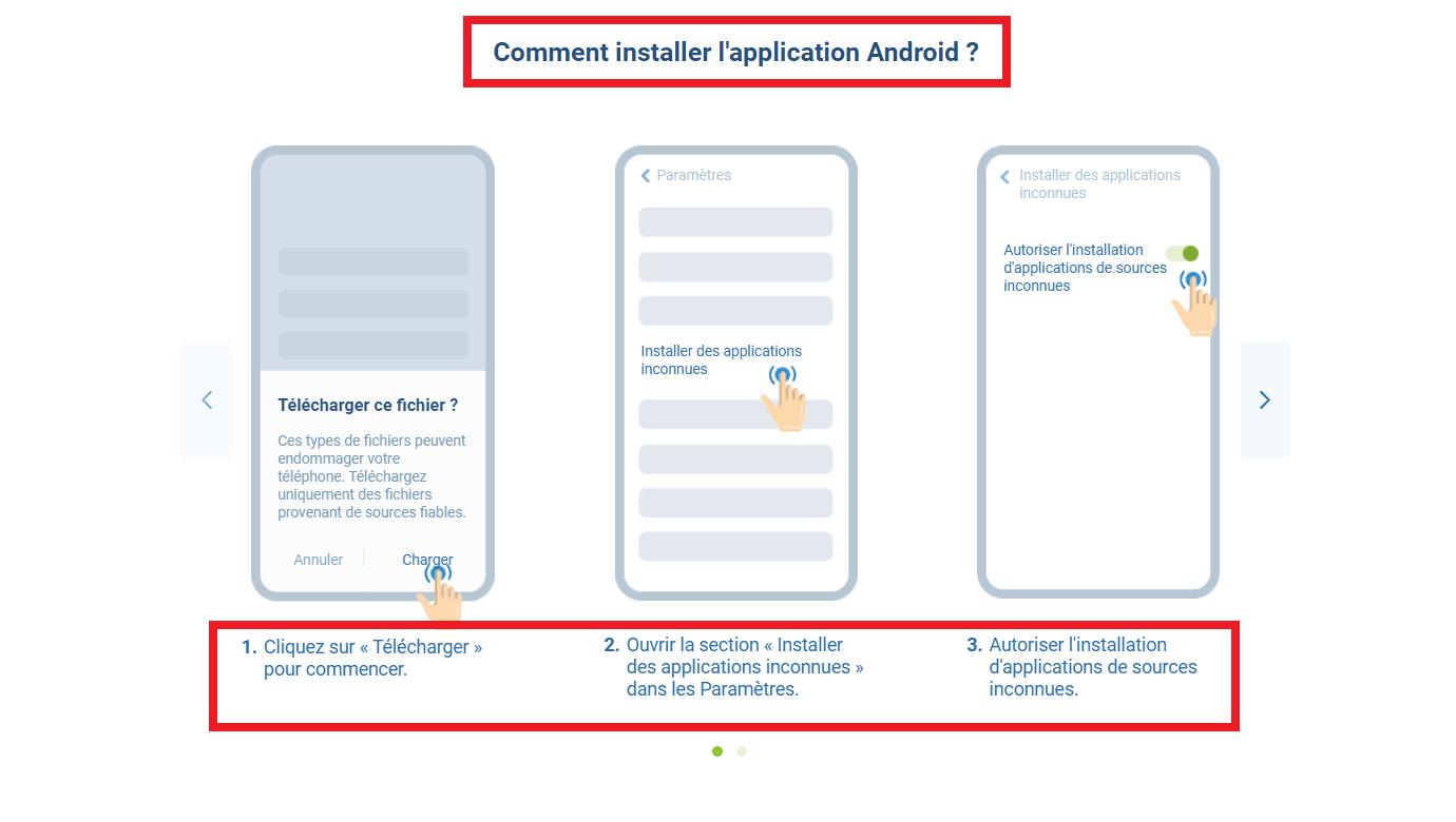 Le programme d'affiliation est-il distribué sur application 1xbet pour Android?